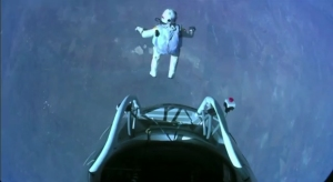 Felix Baumgartner jumps from space