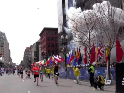 Explosion at the Boston Marathon