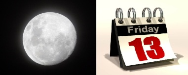 Friday 13 - Full moon
